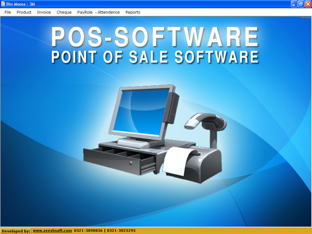 Windows 7 Retail POS point of sale software 1.0 full